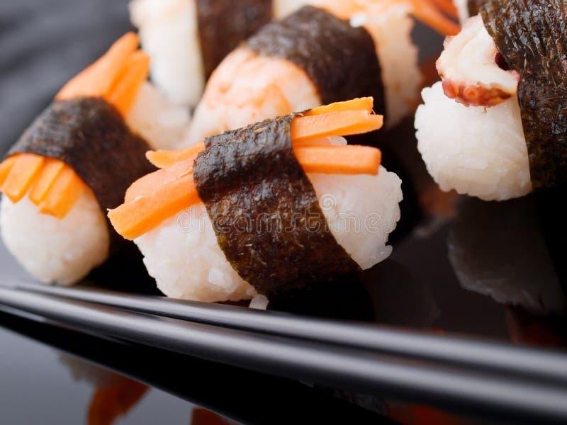 nigiri sushi obrazy stock