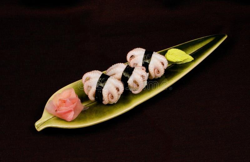 Nigiri-Sushi fotografia de stock