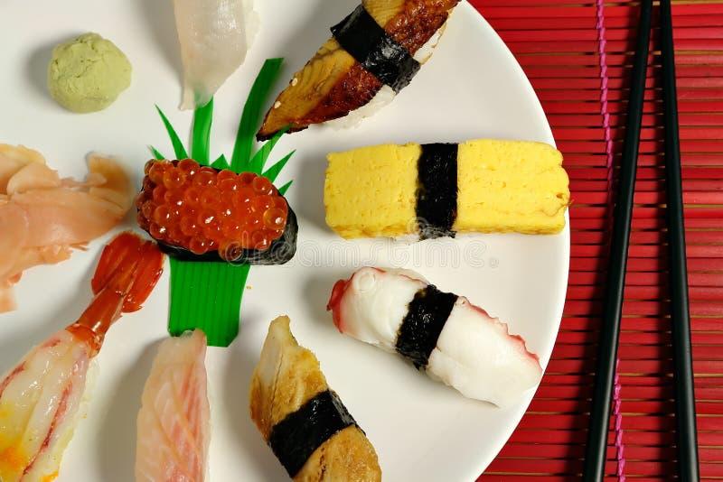 Nigiri sushi royalty free stock images