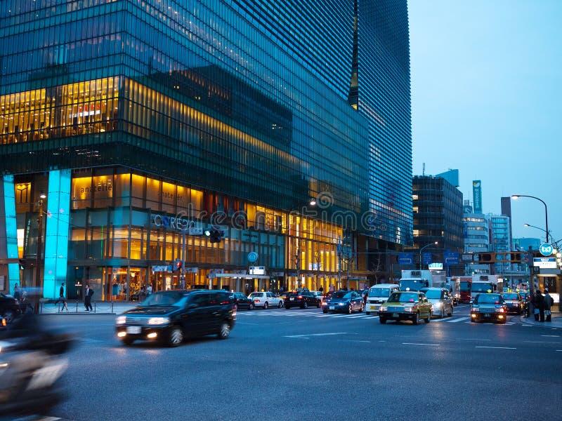 Nihonbashi CBD στο Τόκιο στοκ φωτογραφίες