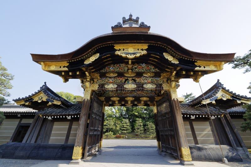 Nijō Kasteel stock afbeeldingen