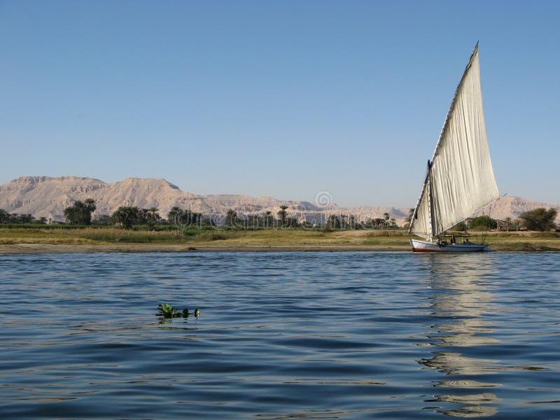 Nijl, Egypte stock foto