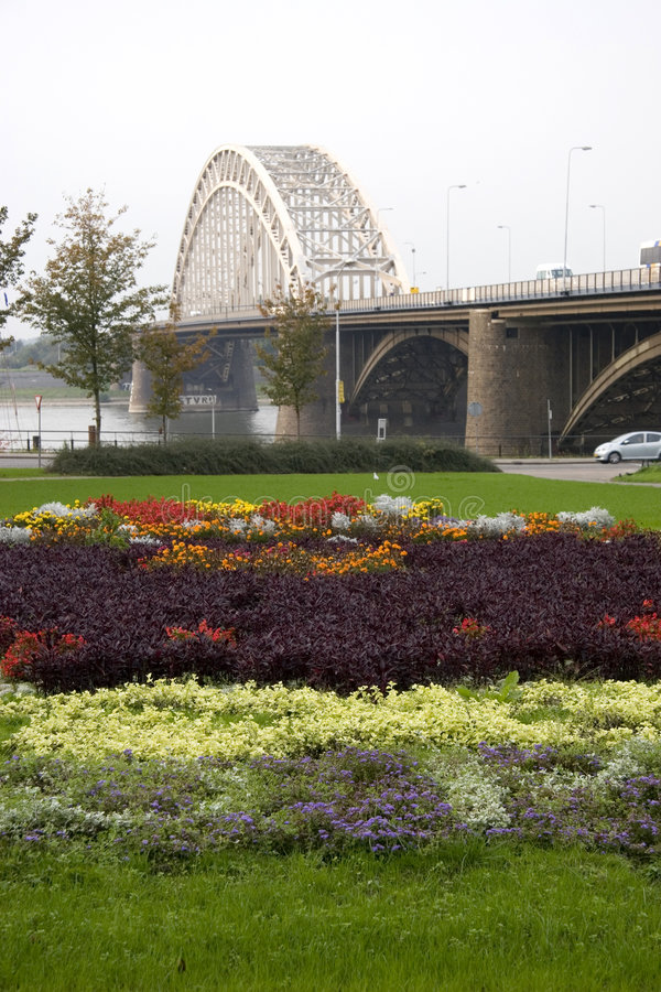 Nijmegen Bridge1 fotografia de stock
