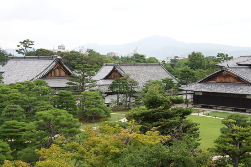 Nijo Castle (Nijojo), Kyoto stock photo