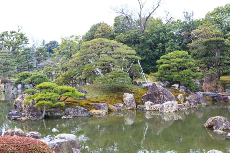 Nijo Castle in Winter Season. royalty free stock image