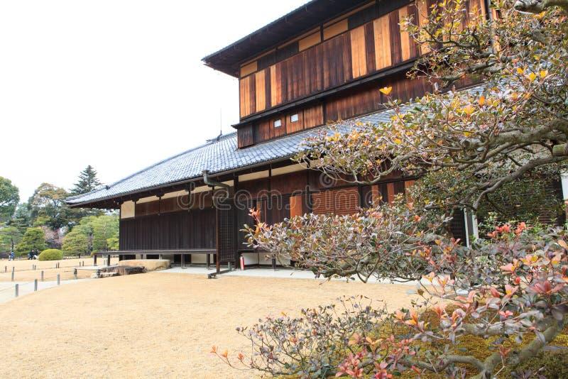Nijo Castle in Winter Season. Kyoto Japan royalty free stock image