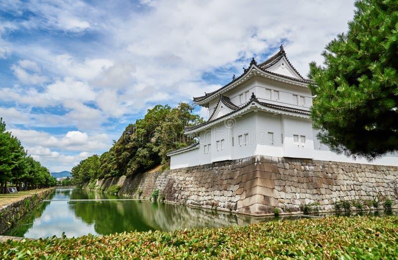 Nijo Jo城堡在京都 库存照片