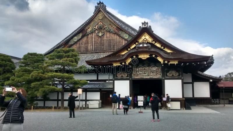 Nijo-Jo城堡 免版税库存照片