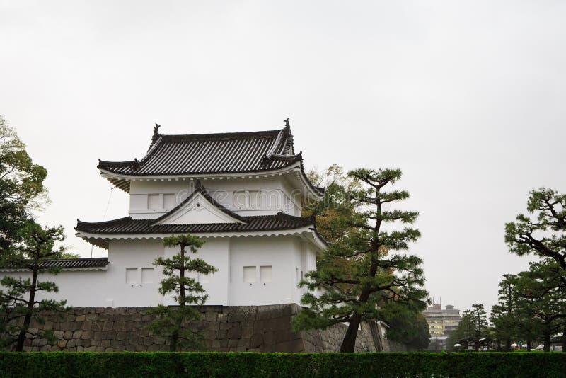 Nijo kasztel w Kyoto, Japonia obraz stock