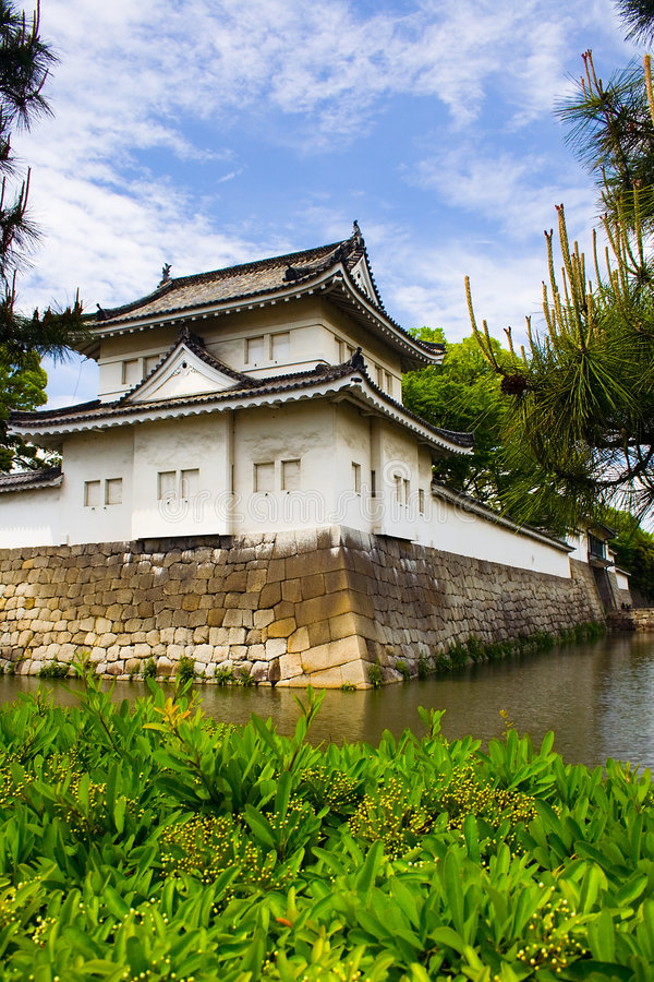 Nijo Schloss, Kyoto, Japan stockfoto