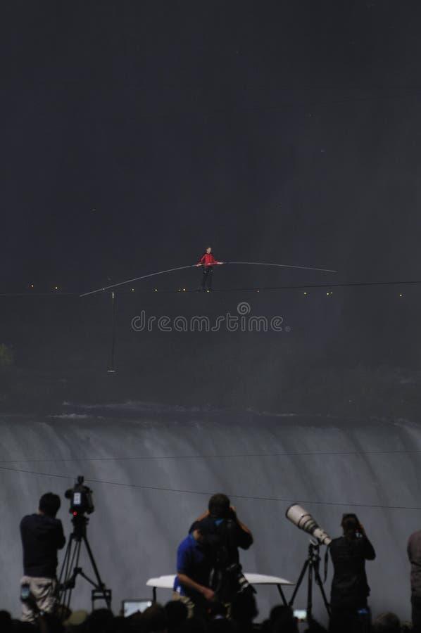 Download Nik Wallanda Crossing Niagara Falls. Editorial Stock Photo - Image: 25317603