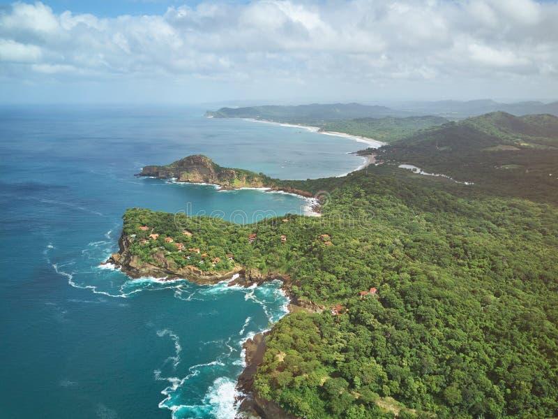 Nikaragua podróży miejsce przeznaczenia obrazy royalty free