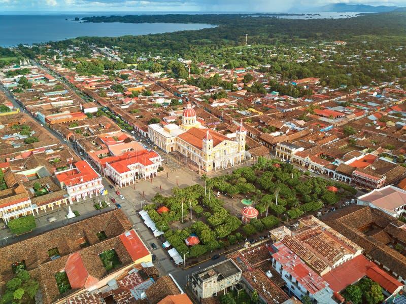 Nikaragua podróży tło fotografia royalty free
