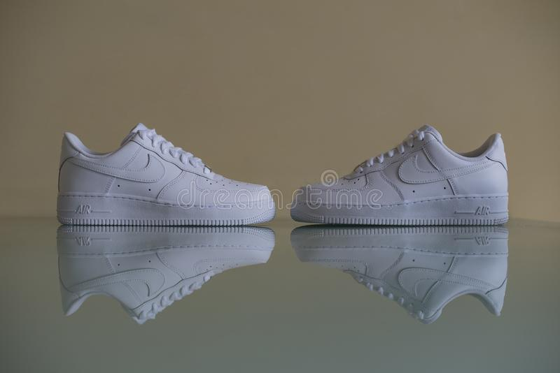 Nike Air Force One fotos de archivo