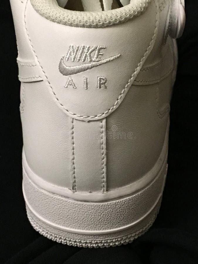 Nike Air Force One-schoenen stock fotografie