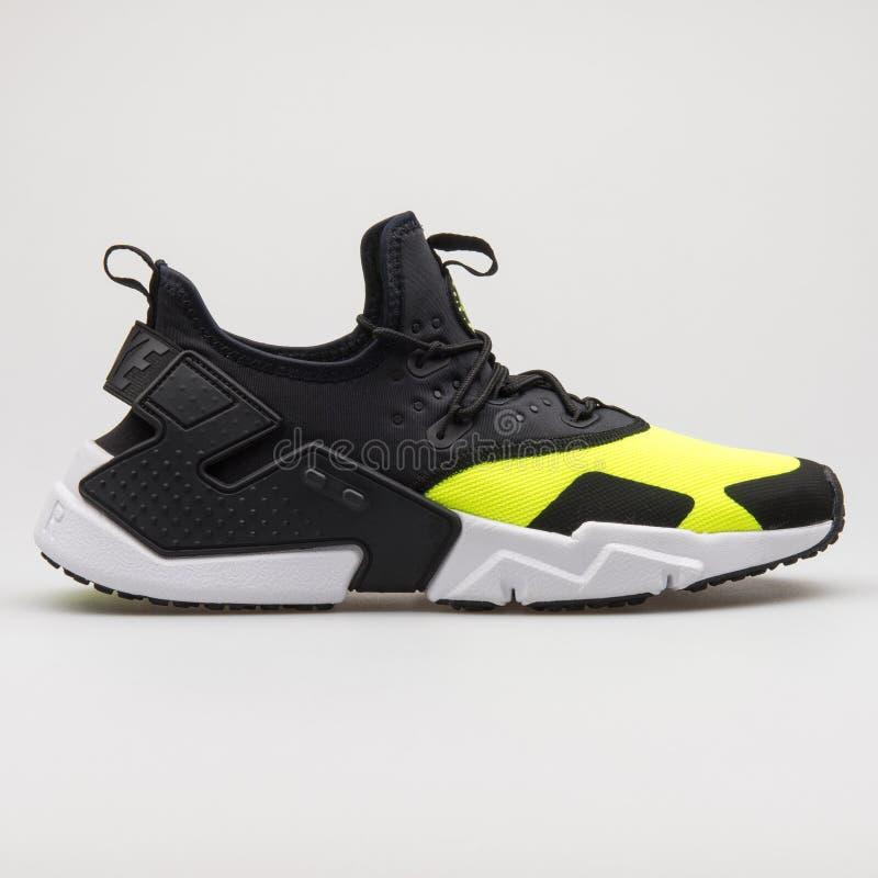 Nike Air Huarache Drift Black, Yellow