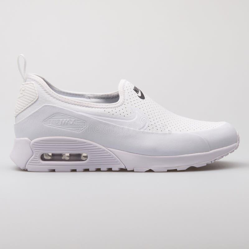 Nike Air Max 90 ultra 2 0 scarpe da tennis bianche di facilità immagini stock