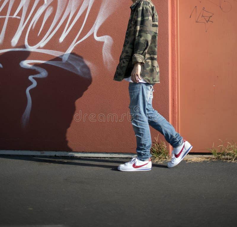 Nike Cortez fotos de stock royalty free