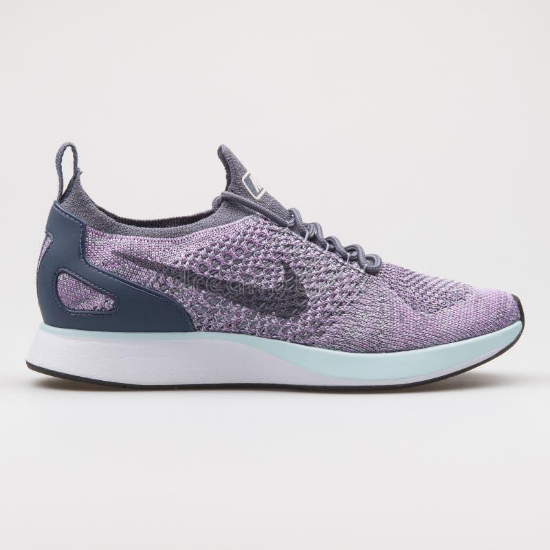 Nike Dualtone Racer Purple And White