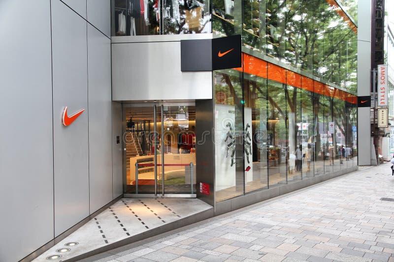 Nike enregistrent, Tokyo photo libre de droits