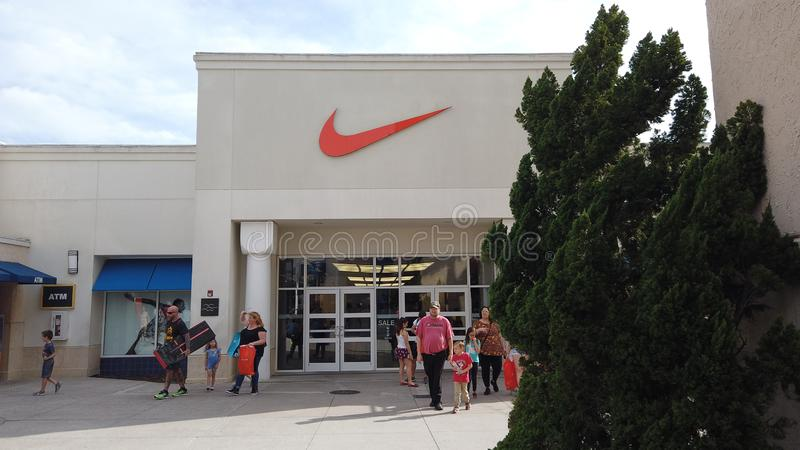 Nike Store Exterior Editorial Photo. Image Of Shoe, Sports