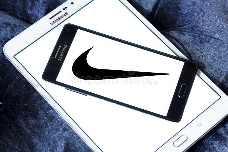 Nike logo stock images