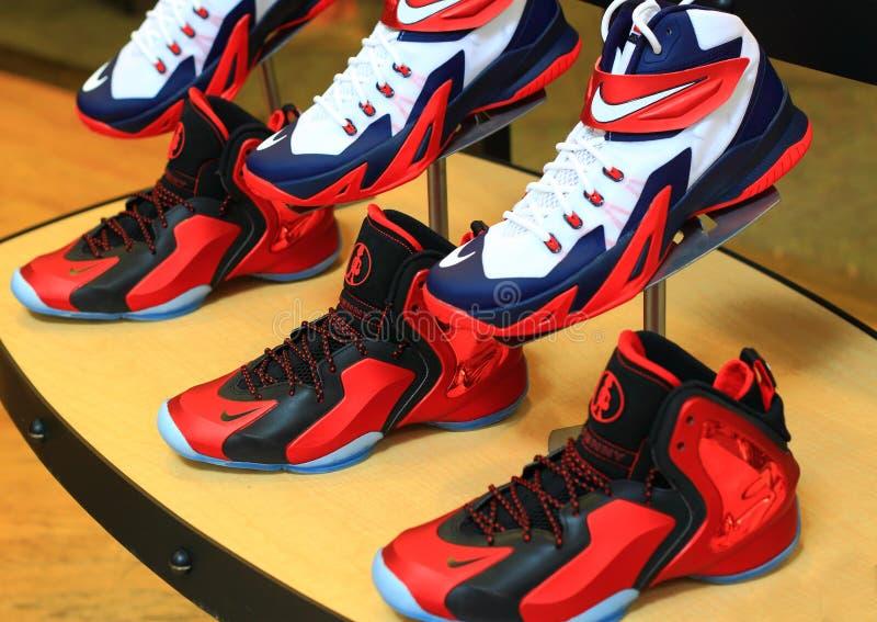 Nike Shoes arkivfoto
