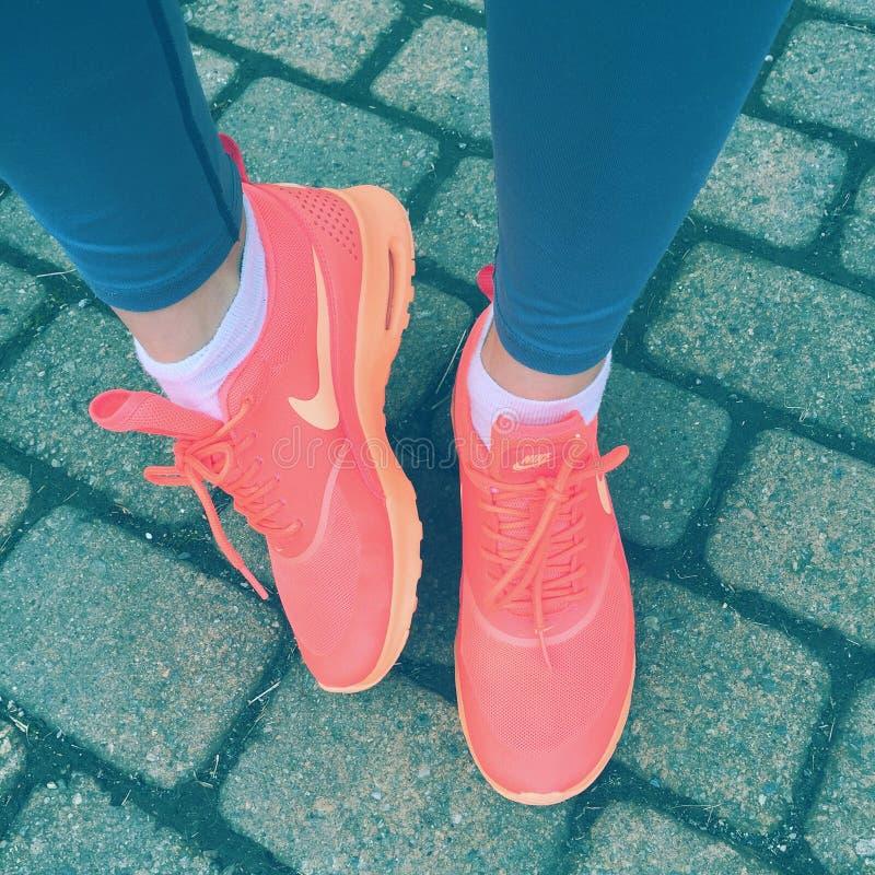 Nike Shoes photographie stock libre de droits