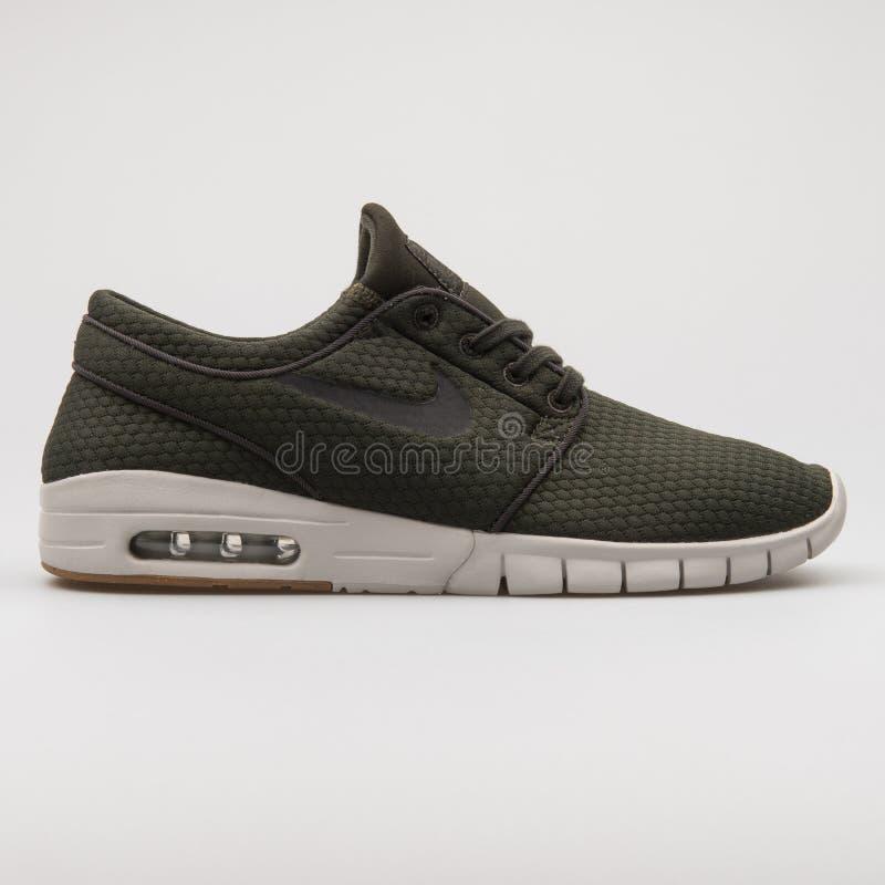 Nike Stefan Janoski Max Olive Green