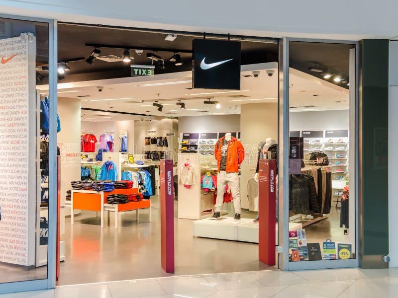 Nike Store foto de stock royalty free