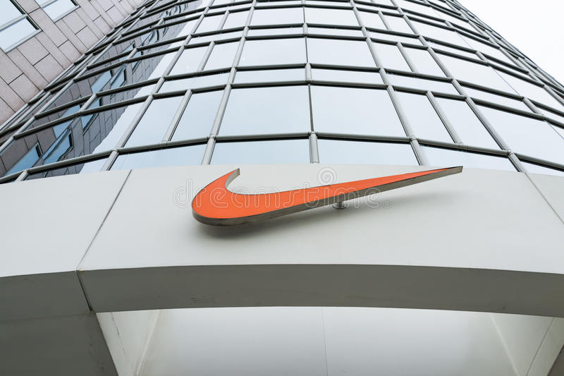 Nike Store stock afbeelding