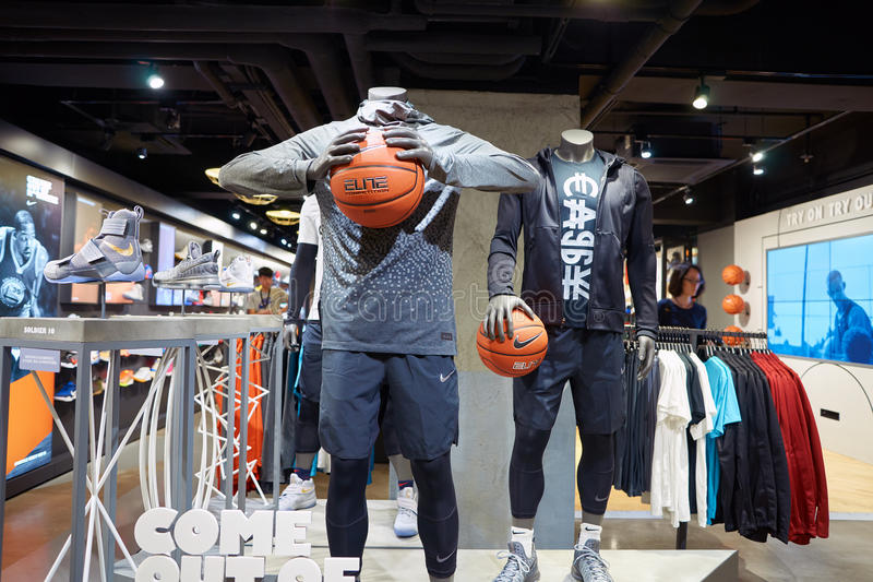Nike Store fotos de stock
