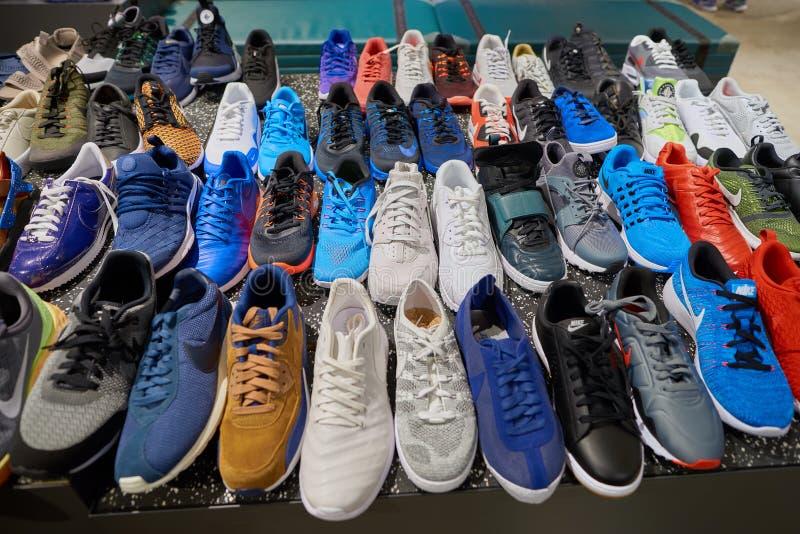 Nike Store imagem de stock