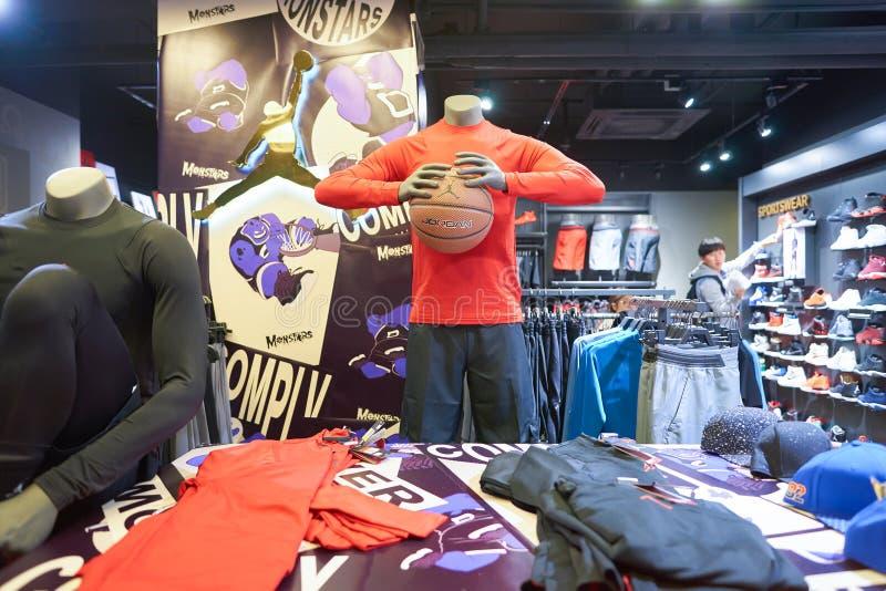 Nike Store fotografia de stock royalty free