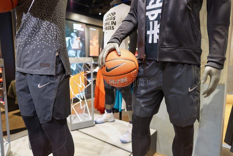 Nike Store imagens de stock royalty free