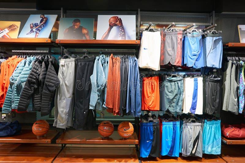 Nike Store fotografia de stock