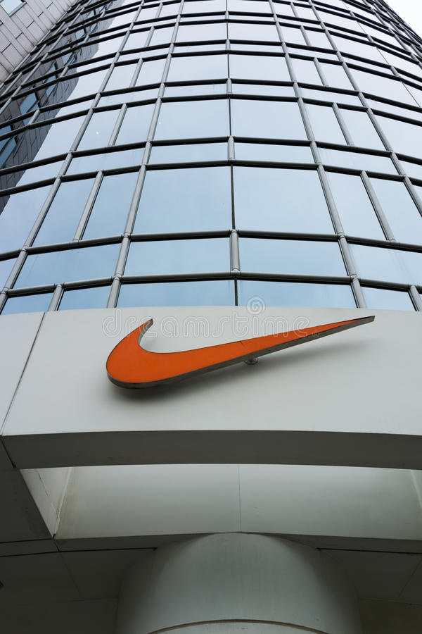 Download Nike Store Editorial Stock Photo Image Of Fashion Reflection