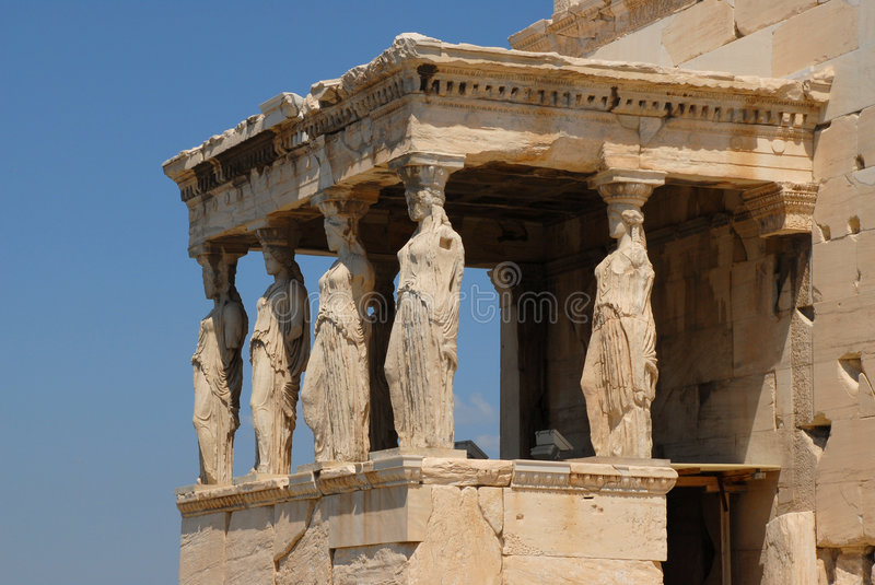 Nike Temple in Athens Greece royalty free stock photos