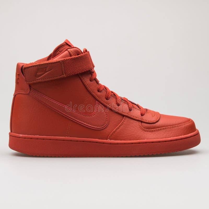 Nike Vandal High Supreme Leather Red