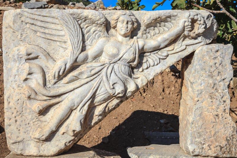 Nike voado da deusa imagem de stock