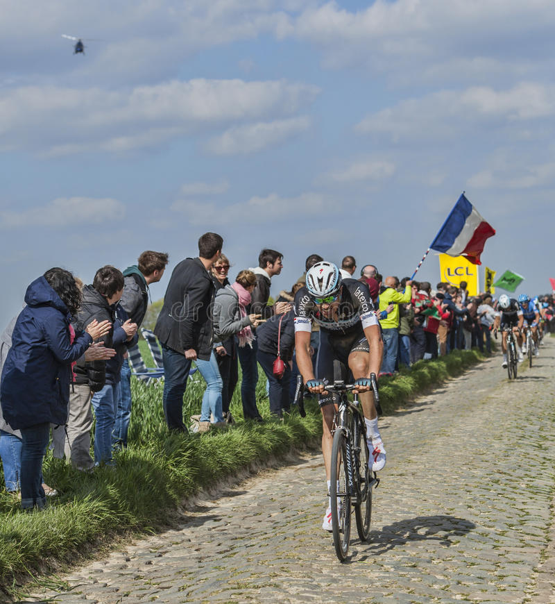 Download Niki Terpstra The Winner Of Paris-Roubaix 2014 Editorial Image - Image: 39805460