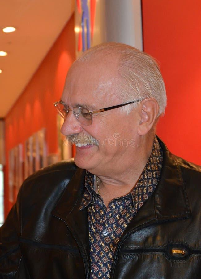 Nikita Mikhalkov obraz stock