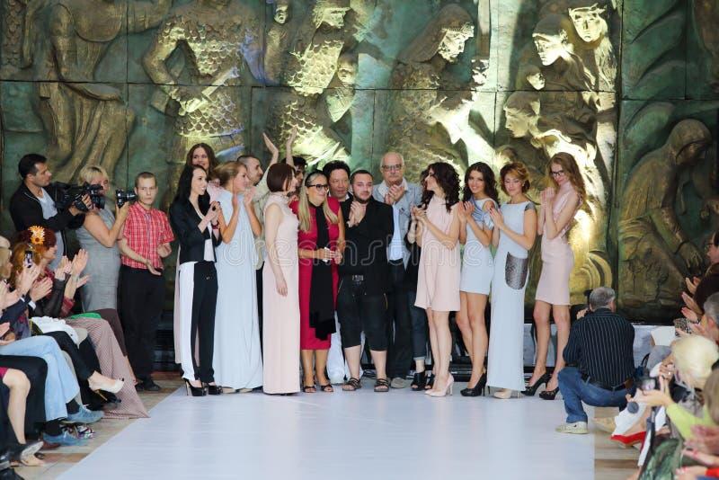 Nikita Mikhalkov i modele obrazy royalty free