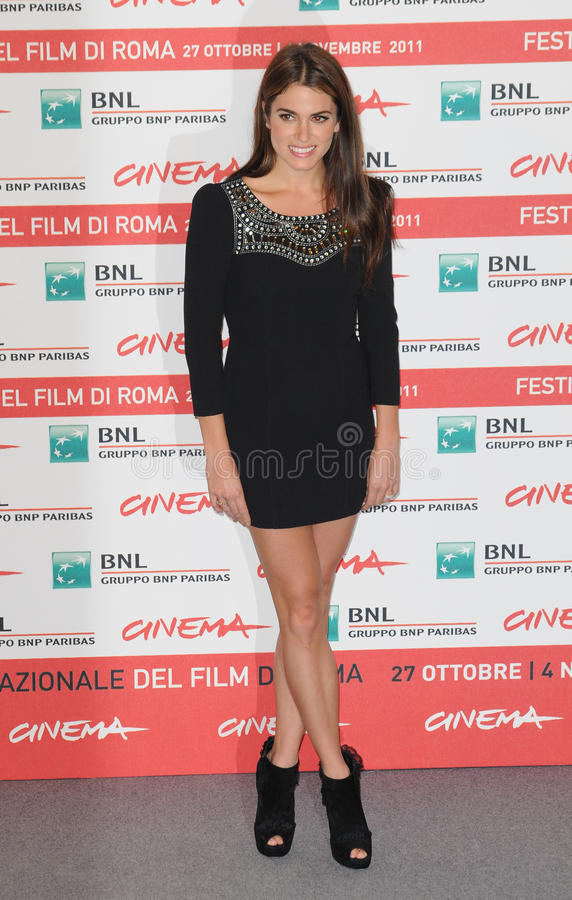 Nikki Reed. Attends the photocall of The Twilight Saga: Breaking Dawn Part 1 during the 6th International Rome Film Festival. October 30, 2011, Rome, Italy stock photos