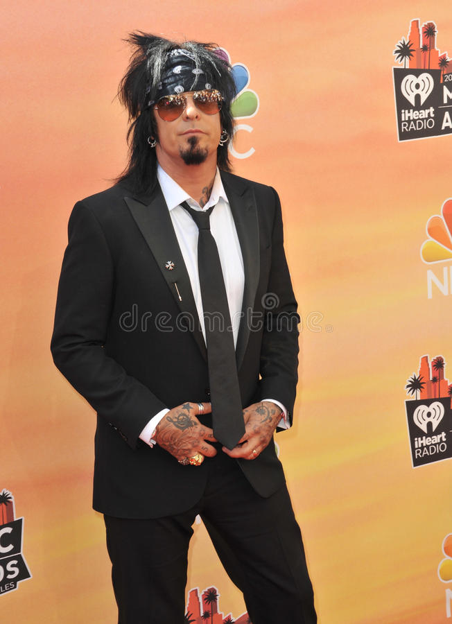 Nikki Sixx fotos de stock royalty free