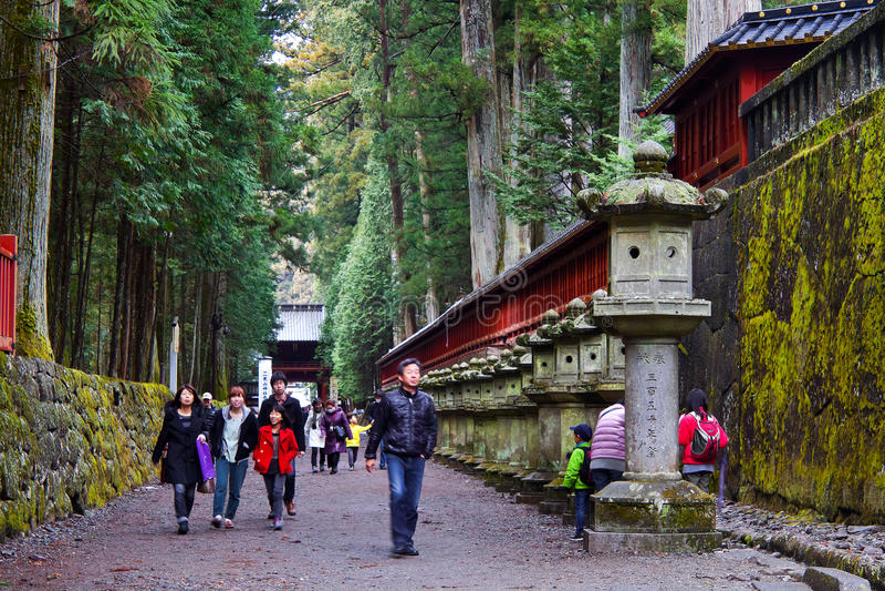 Nikko fotografering för bildbyråer