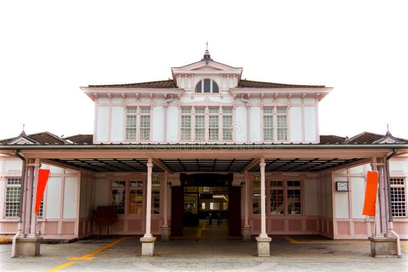 Nikko-Bahnstation lizenzfreie stockfotografie