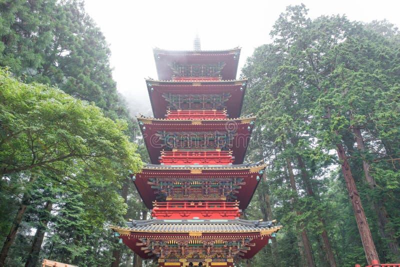 Nikko Japan royalty-vrije stock afbeelding