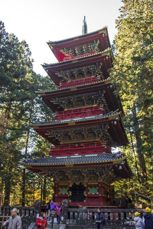 Nikko, Japon images libres de droits