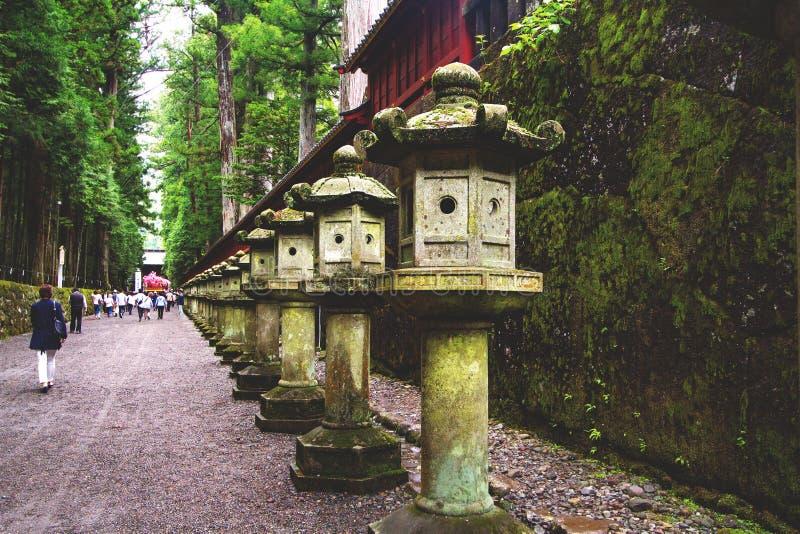 Nikko nationalpark, Tochigi, Japan arkivbild